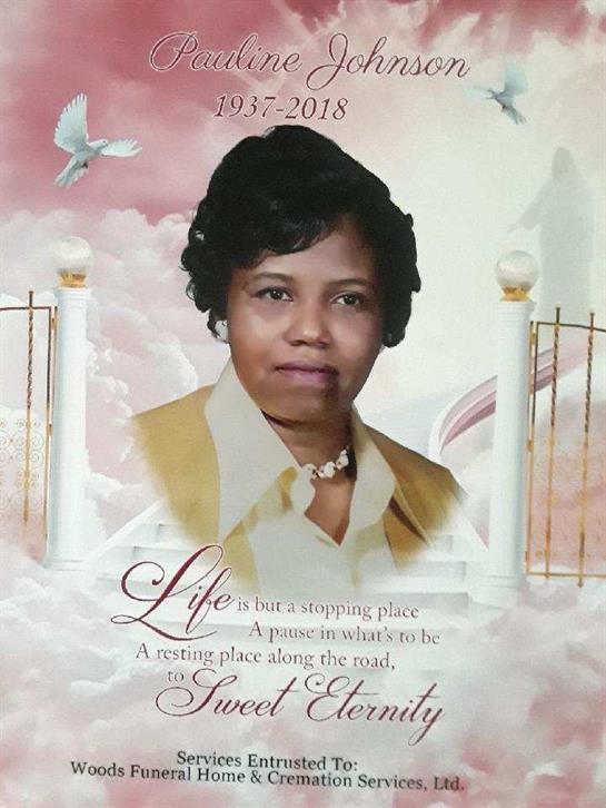 Pauline Johnson Obituary - Visitation & Funeral Information